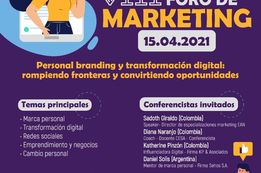 VIII Foro de Marketing – Universidad Santo Tomás